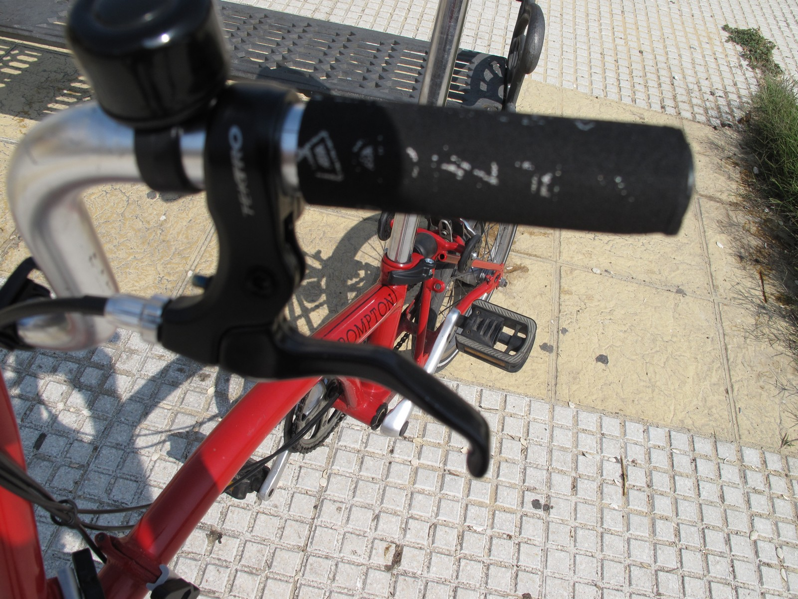 Brake Lever Position Adaptor for BROMPTON Bicycle BLACK