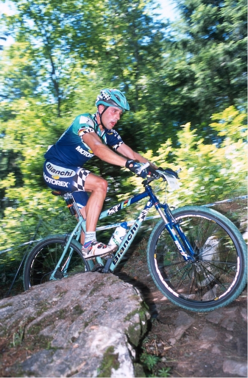 UCI World MTB Cup Leysin, Suiza. Agosto de 2001