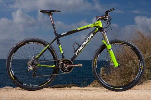 La O.Nine es la bici que Hermida estaba esperando tanto tiempo. Una de las más ligeras del circuito con 7,9 kg según se vio en los reportajes de revistas especializadas