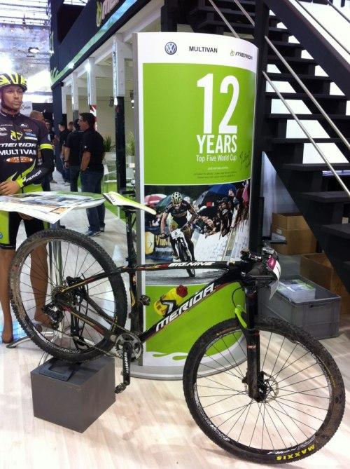 La Big.Nine es la bici con la que participó en Londres 2012